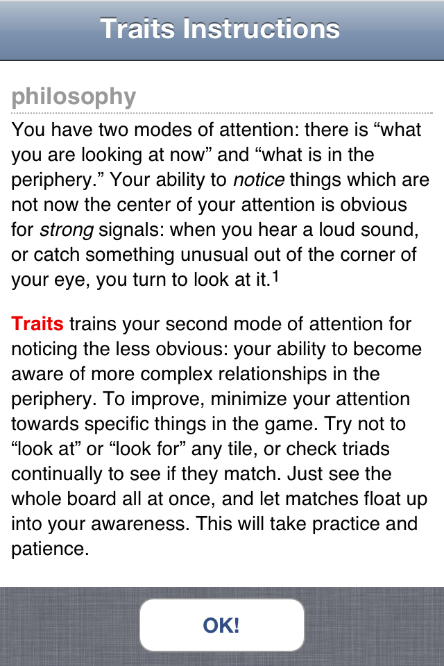 Screenshot Traits